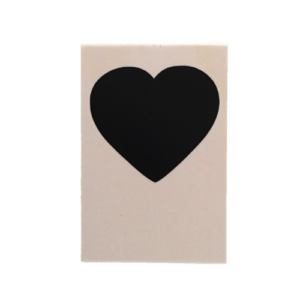 houten kaart hart
