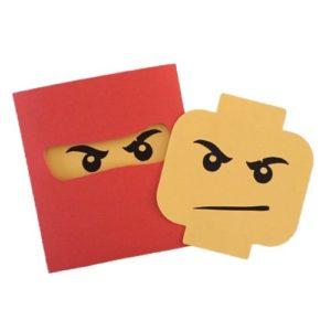 kaart Lego Ninjago