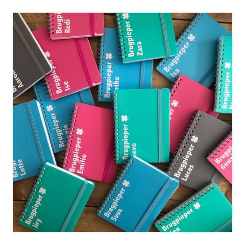gepersonaliseerd notitieboekje