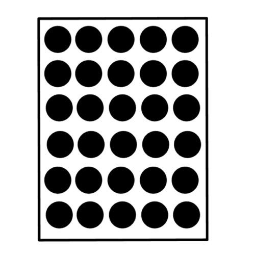 muurstickers cirkels