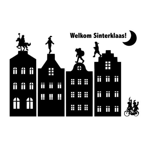 Raamsticker Sinterklaas Van Kootje