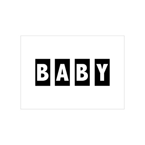 kaart baby