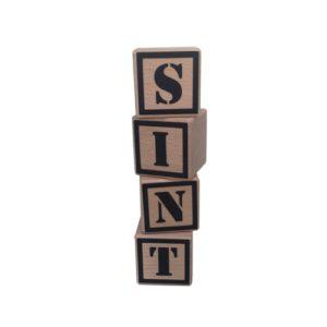 houten blokken sint