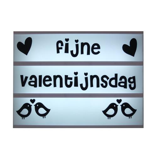 Lightbox symbolen Valentijn