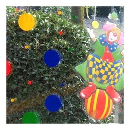 Raamsticker confetti