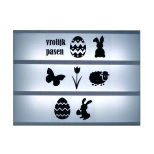 Lightbox symbolen Pasen