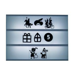 Lightbox symbolen Sinterklaas