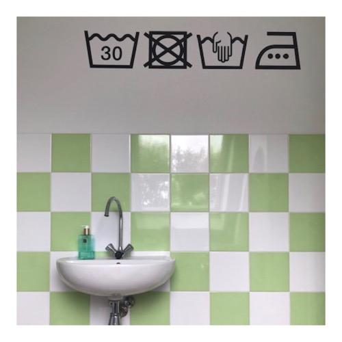 stickers wassymbolen