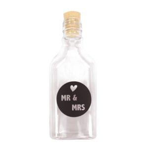 flessenpost huwelijk