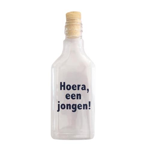 flessenpost jongen geboren