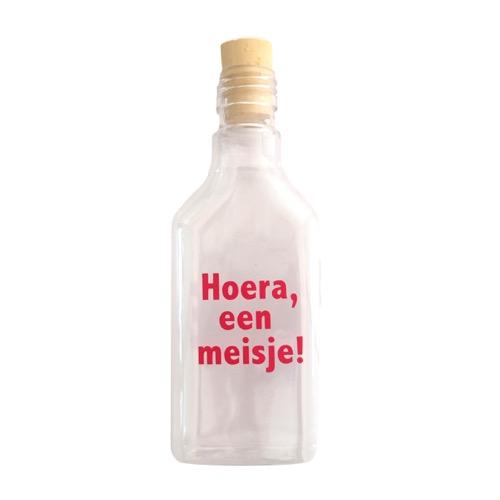 flessenpost meisje geboren