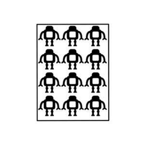 Traktatiestickers robot