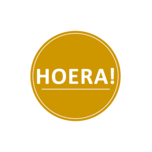 Sticker Hoera