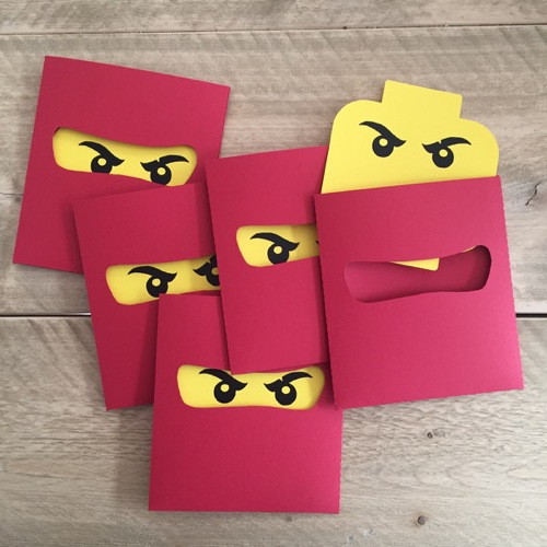 Lego Ninjago kaart