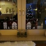 Raamsticker kerst