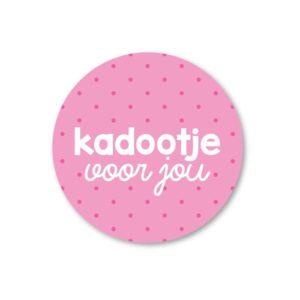 Sticker Kadootje voor jou