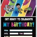Feestje Teen Titans Go!