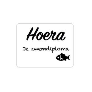 Sticker zwemdiploma