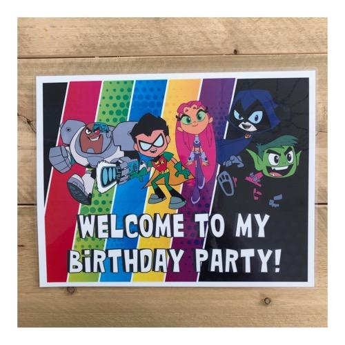 Kinderfeestje Teen Titans Go
