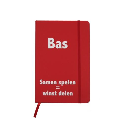 Notitieboekje met naam
