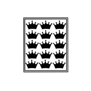 sticker traktatie kroon