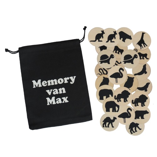Houten memory dieren