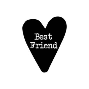 Sticker Best Friend