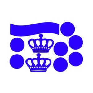 raamsticker Koningsdag