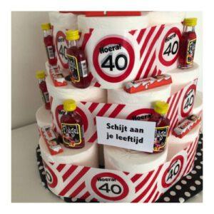 Schijt aan je leeftijd taart